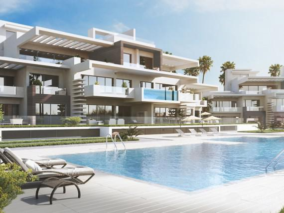 Dwupoziomowy penthouse w Marbella Golden Mile 2