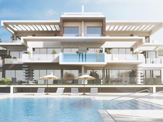 Dwupoziomowy penthouse w Marbella Golden Mile 1